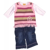 Jungle Rumble Baby Girl Jeans