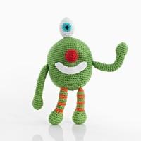 Monster Rattle - Cheeky Green