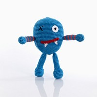 Monster Rattle - Scary Blue