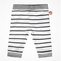 Milk & Sugar - Black & White Stripe Pants