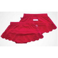 Milk & Sugar - Scarlet Red  - Bloomer with skirt