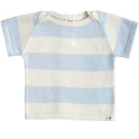 Nurtured By Nature Stripe Button Top