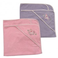 Anewvee Girl Hooded Towel