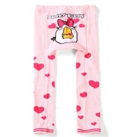 Pink Angry Birds Baby Leggings