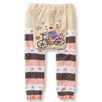 Bear on Bike Baby Leggings