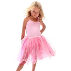 Fairy Girls Long Ballet Dress