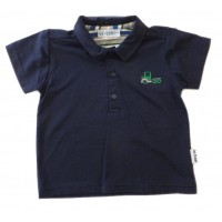 Le Bon Navy Polo T-Shirt