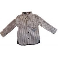 Motion Wear Long Sleeve Stripe Shirt