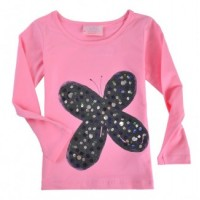 Funky Babe - Butterfly Top Pink