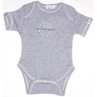 Nurtured by Nature Organic Bodysuit - Grey Marle