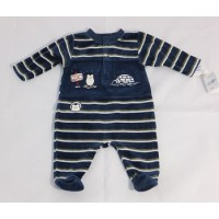 LE BON Eskimo Navy Growsuit