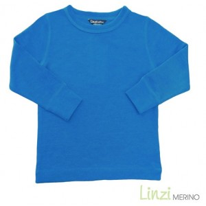 Linzi Merino Blue Thermal Top