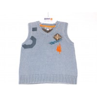 Motion Wear Cotton Knitted Vest