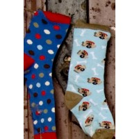 Ouch Boys Pattern Socks