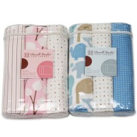 Dwell Studio Print Flannel Blankets