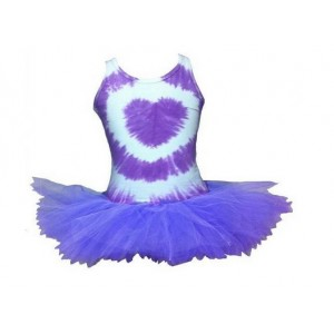 Fairy Girls Tie Dye Tutu Dress