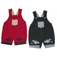 V-Baby Cotton Overalls